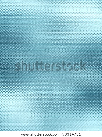 Texture of ice or glass - stock photo
