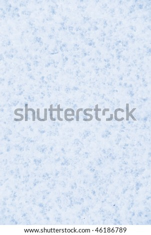 Texture of icy snow, details of ice crystals - stock photo