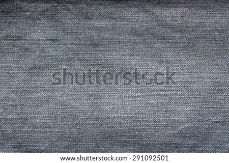 Texture of jeans background, natural clean denim background - stock photo