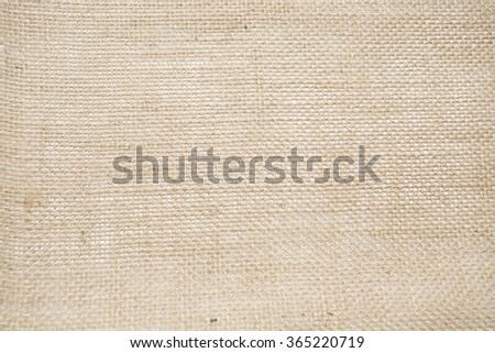 texture of jute caanvas - stock photo