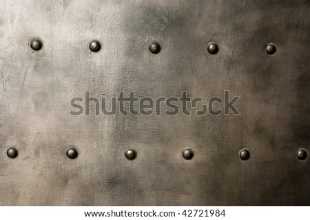 Texture of metal black stell - stock photo