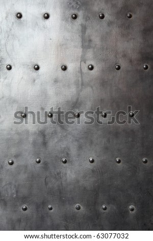 Texture of metal black stell