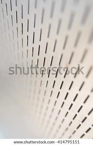texture of metal industrial equipment - stock photo