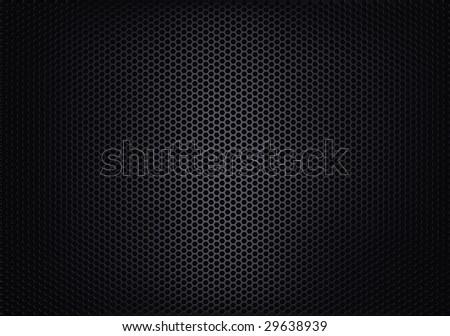 Texture of metalic mesh   (#3 of 6) - stock photo