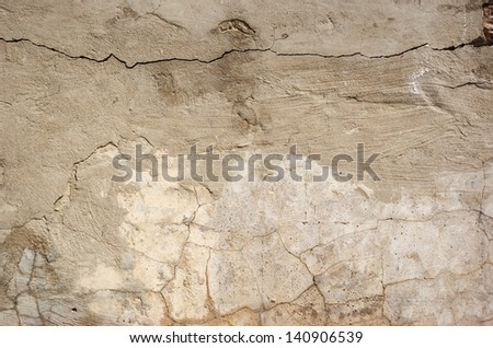Texture of old concrete wall for background - stock photo