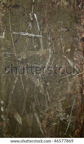 texture of old metal wall - stock photo