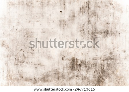 Texture of old painted wall in Asia - stock photo