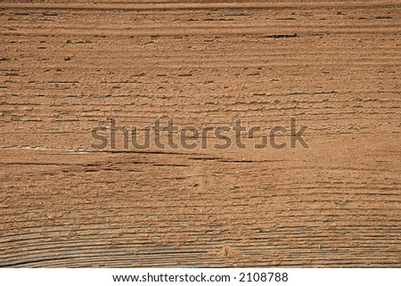 texture of old painted wood in bown