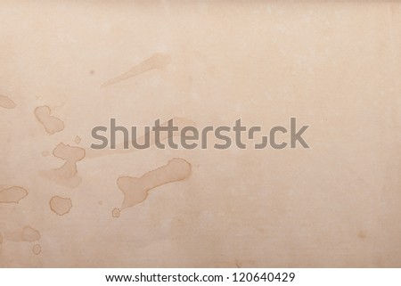 Texture of old paper - stock photo
