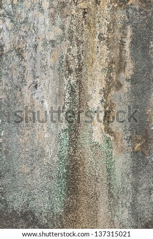Texture of old plastered wall - stock photo