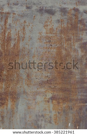 Texture of old rusty metal - stock photo