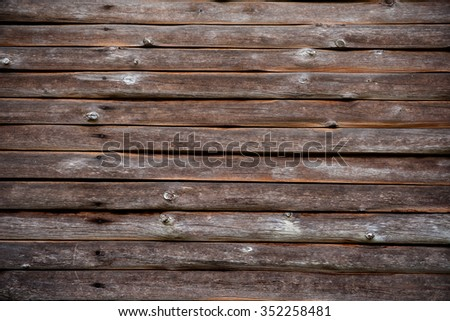 Texture of old Timber Wood Wall for background