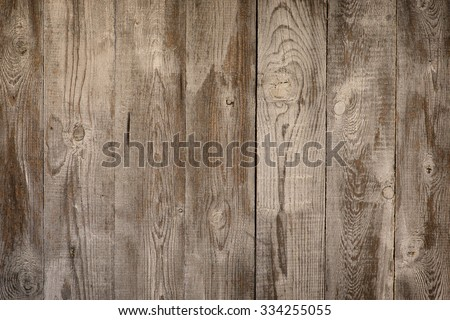 Texture of old vintage bark wood use as natural background - stock photo