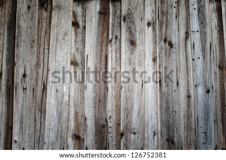 Texture of old wood background - stock photo