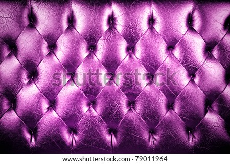 texture of padding, A purple texture of padding cushion. - stock photo