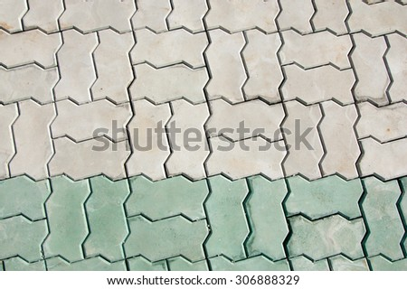 Texture of Paving. Blue Grey - stock photo