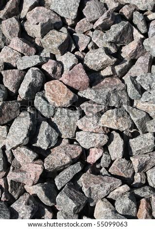 Texture of pebble - stock photo