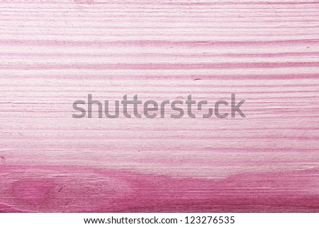 Texture of pink wood background. Macro shot, top view - stock photo
