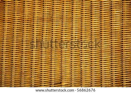 texture of rattan furniture - stock photo