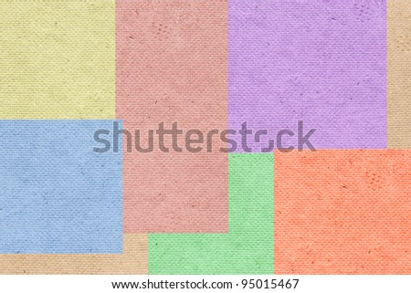 Texture of recycle paper (eggs' box) - stock photo