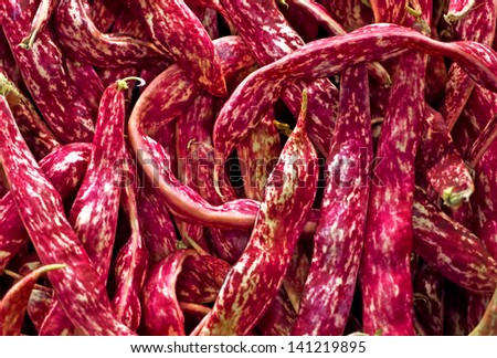 Texture of red beans
