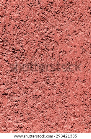 Texture of red harmonic concrete wall - stock photo