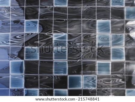 texture of ripple surface water in swimming pool