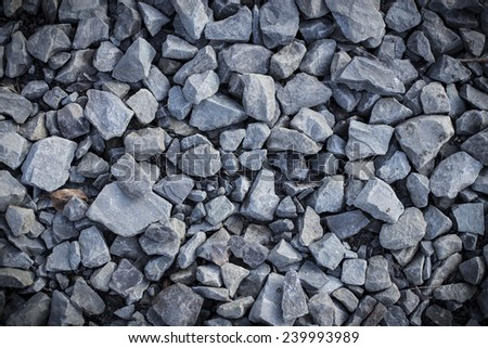texture of road or path stones. - stock photo