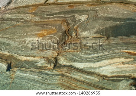 texture of rock with flowing lines