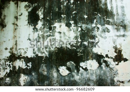Texture of rough concrete wall - stock photo