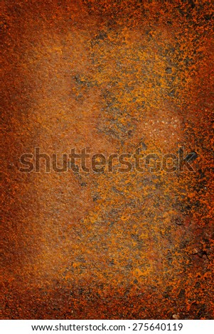 Texture of rusty metal - stock photo