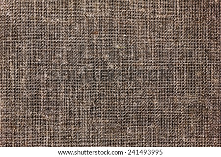 texture of sacking or hessian or burlap material, gunny sack natural background - stock photo