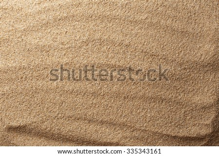 Texture of sand - stock photo