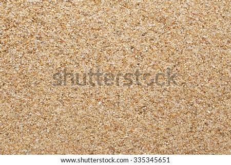 Texture of sand - stock photo