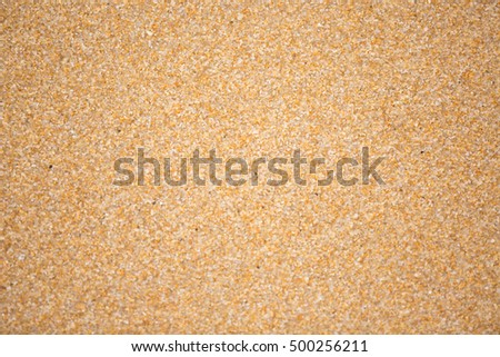 Texture of sand on a beach
