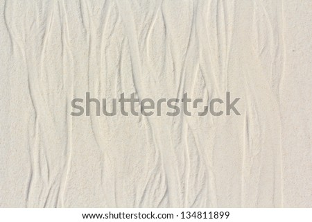 texture of sand on the beach thailand - stock photo