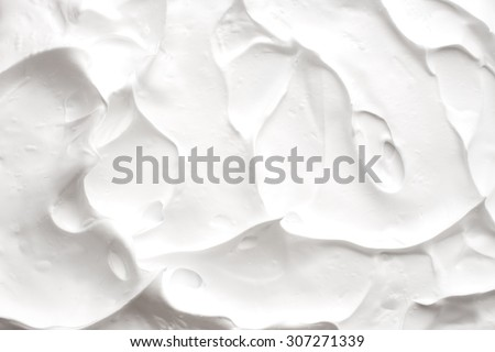 Texture of shaving foam - stock photo