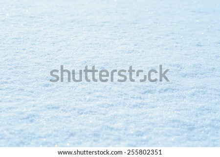 texture of snow in the winter. - stock photo
