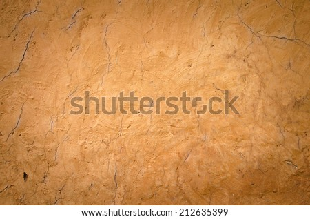 Texture of soil wall - stock photo