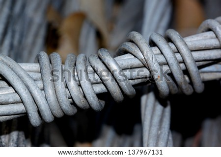 Texture of steel wire