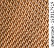texture of synthetic rattan weave - stock photo