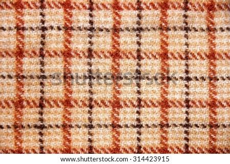 Texture of tartan design. - stock photo
