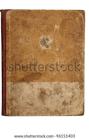 texture of the cover - stock photo