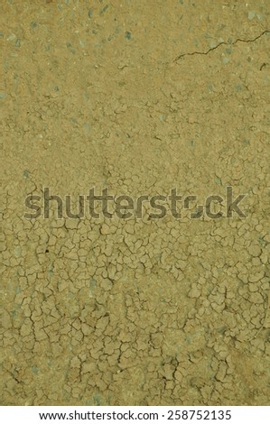 Texture of the dry soil. - stock photo