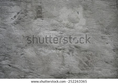 Texture of the gray concrete wall close-up - stock photo