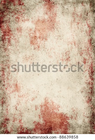 Texture of vintage paper. Background for design - stock photo
