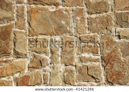 texture of wall from a natural stone