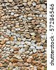 Texture of wall making from beautiful rock - stock photo