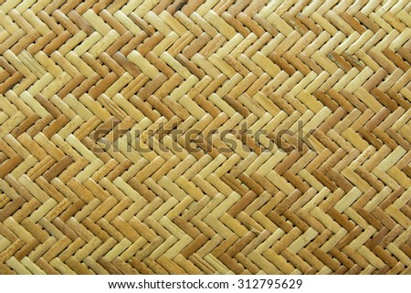 Texture of weave sedge mat background