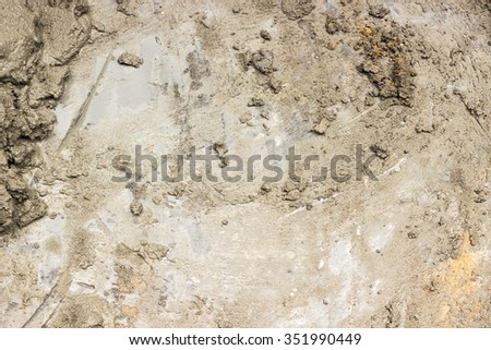 Texture of wet cement  - stock photo